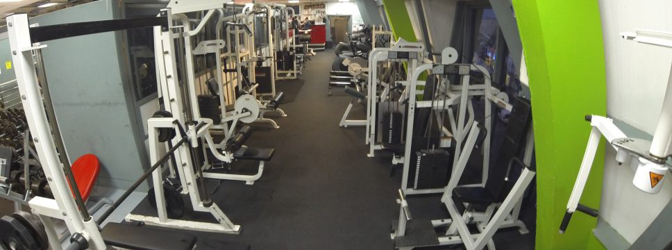 Newquay gym, Equipment from Rogue, Life Fitness, Hammer strength